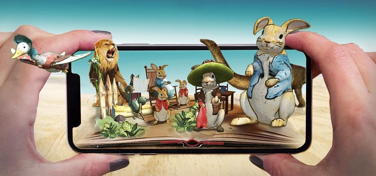 Children's Book Classic Peter Rabbit & Other Tales Come to AR via iOS App