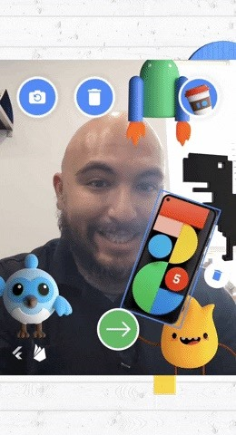 Google offers a photo booth virtual web app in the run-up to a socially remote I / O conference