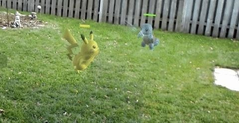 Video: Pokémon Battle in the Backyard with HoloLens Concept