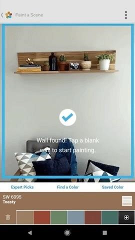Sherwin-Williams Uses Augmented Reality to Take the Guesswork Out of Paint Color Selection