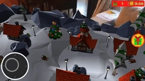 Apple AR: With These Holiday Apps, You Can Build Snowmen, Beat Up Elves, or Spin Driedels in AR