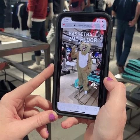 Puma uses Zappar to provide web-based retail experience of AR Store