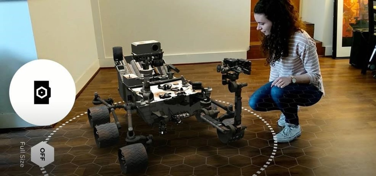 Now You Can Bring NASA's Spacefaring Robots into Your Home via ARCore