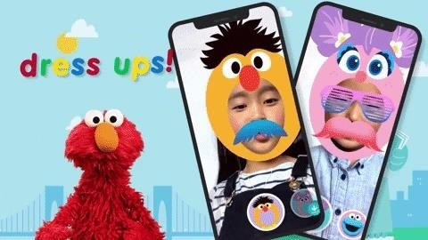 "Apple's iOS app ""Sesame Street Yourself"" transforms children into the favorite characters of ARKit 3's new features"