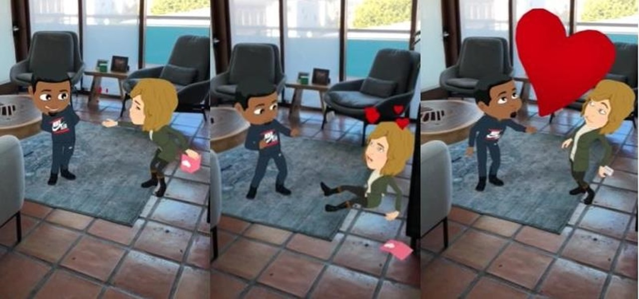 Snapchat Makes Its World Lens More Social with 3D