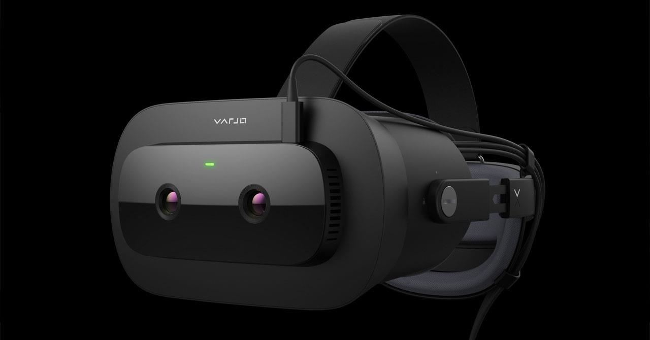 Convenient: The Varjo XR-1 Developer Edition features seamless AR-VR imaging and low latency