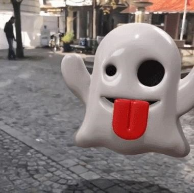 Apple AR: Put 3D Emojis & Text in Your Videos with Holocam