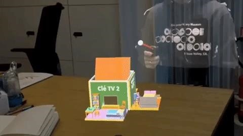Mimesys gives his version of augmented reality video call to Magic Leap via Intel RealSense