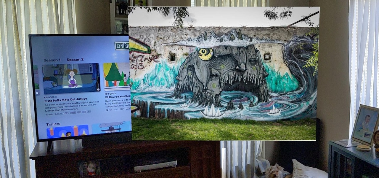 View Art from Your Chromecast in Augmented Reality