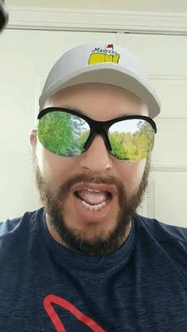 Pretend You're Playing Golf in The Masters Tournament with Snapchat's Latest AR Lens