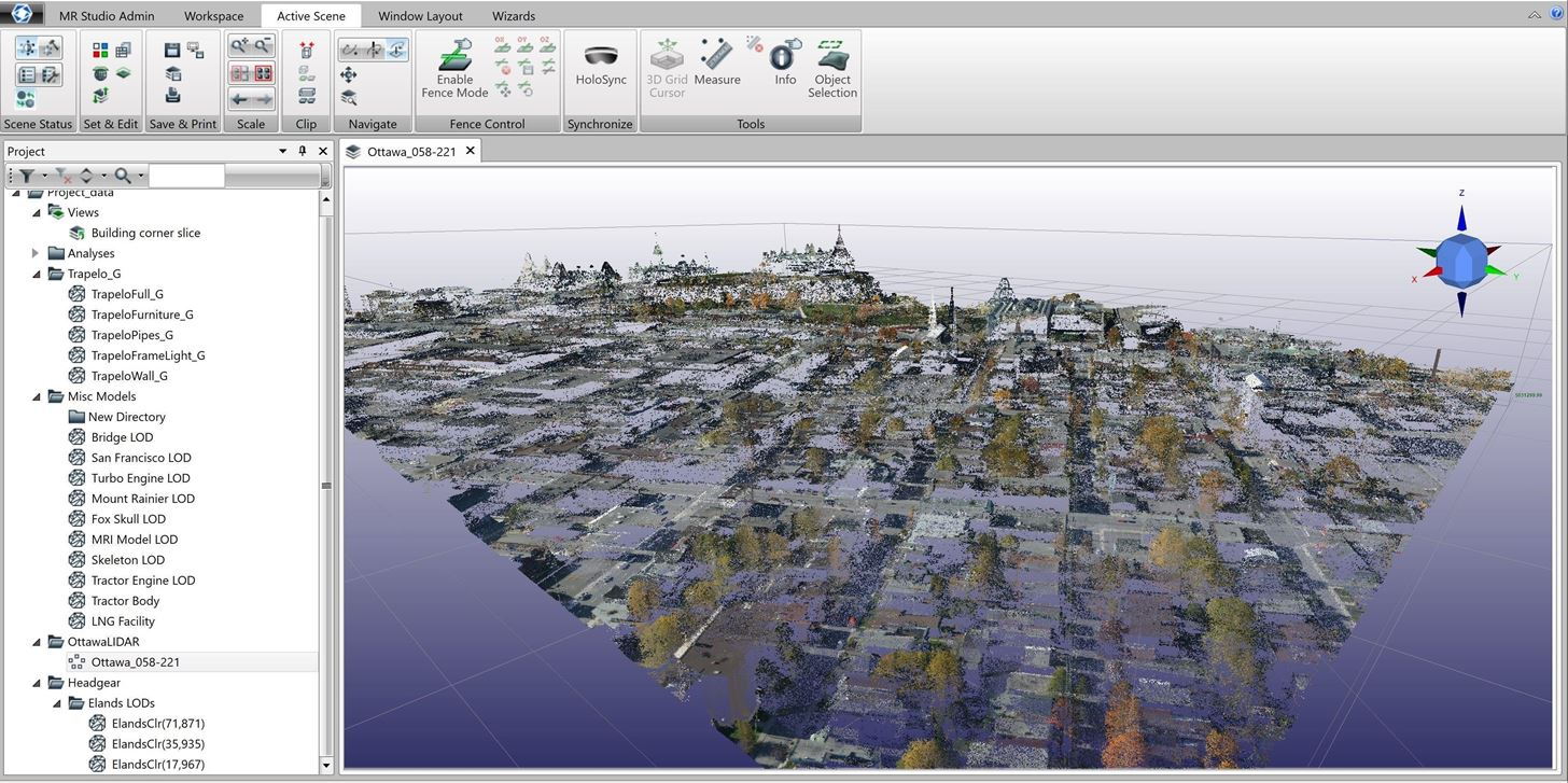 Arvizio Adds LiDAR Point Cloud Support to MR Studio