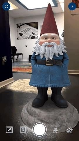 Travelocity Transports Roaming Gnome into Augmented Reality with Its Mobile App