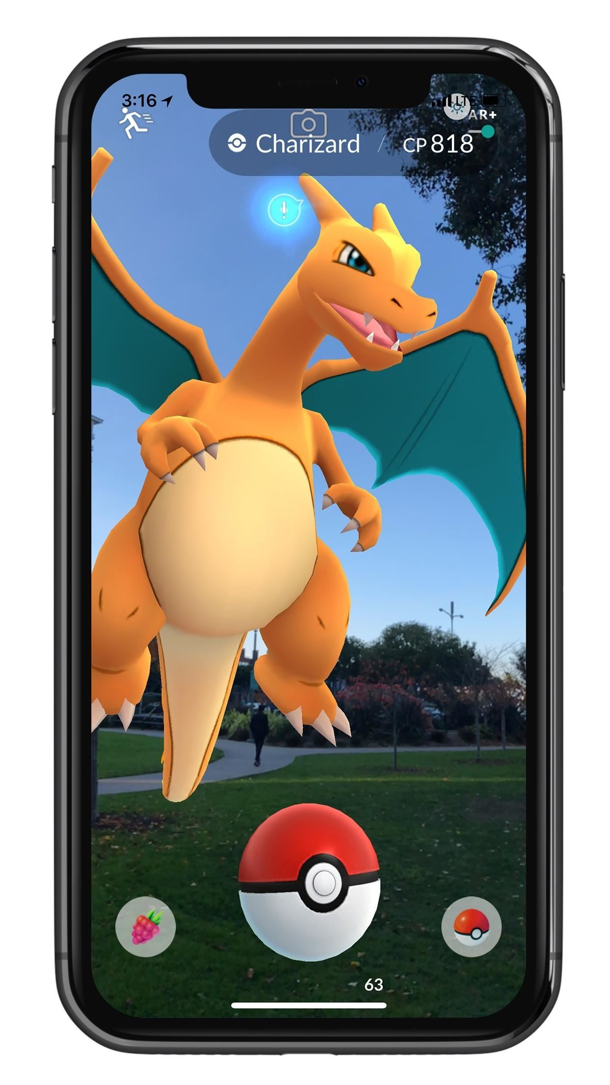Apple AR: ARKit Update for Pokémon Go Makes Monsters Bigger & Smarter