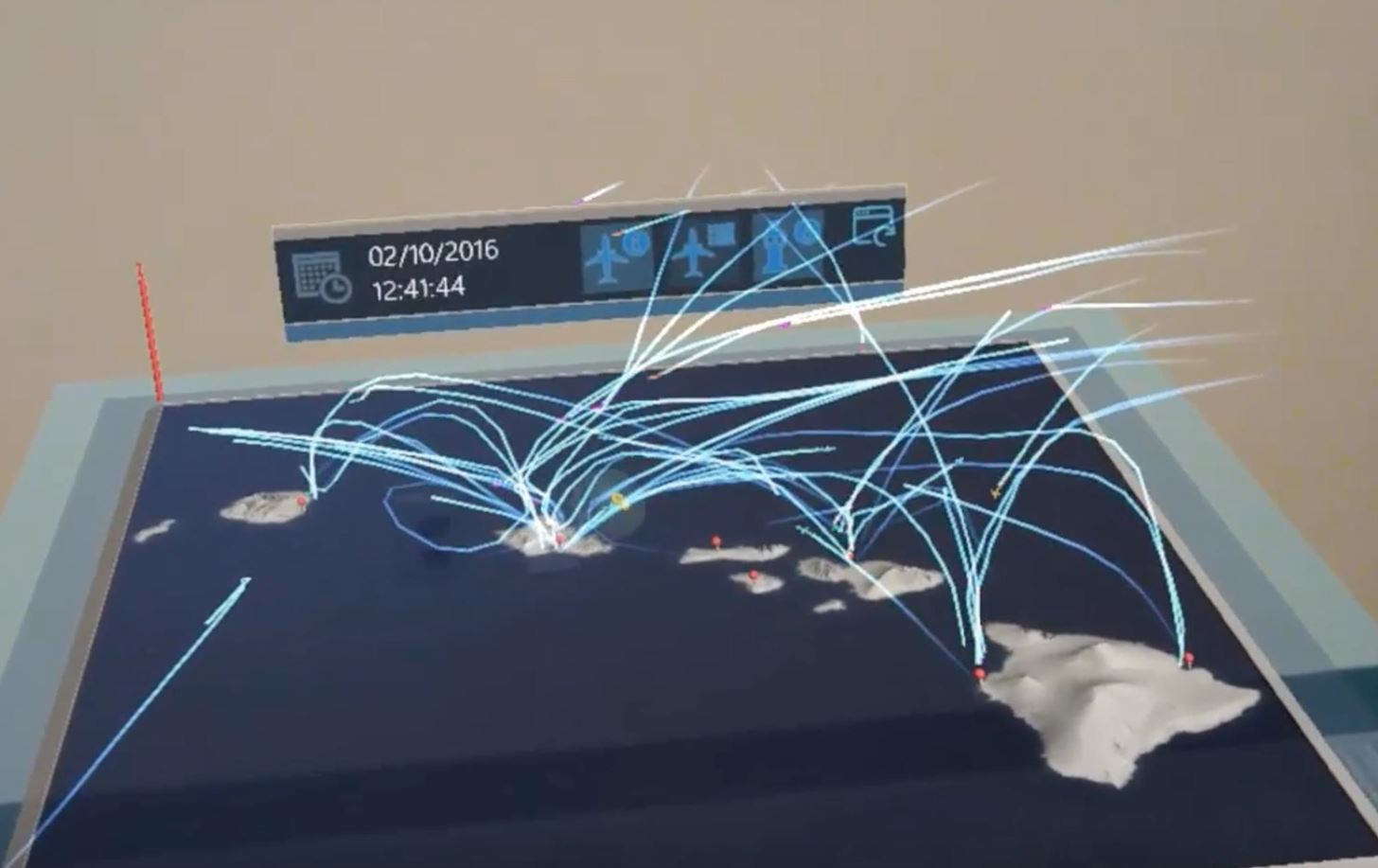 HoloFlight Turns Flight Data into Cool Mixed Reality Visualizations