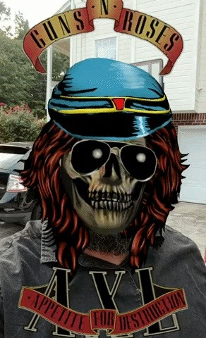 Slipknot & Guns N' Roses AR Masks on Facebook's AR Camera Let Fans Virtually Wear the Music Experience