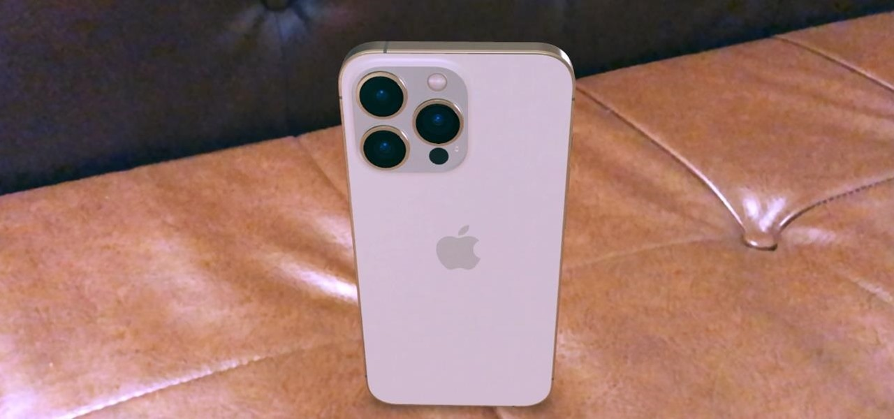 How to Sample the New Apple iPhone 13 and iPhone 13 Pro in Augmented Reality