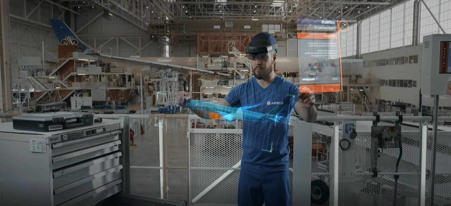 Airbus Partners with Microsoft to Begin Selling HoloLens 2 Software After Successful AR Pilot Program