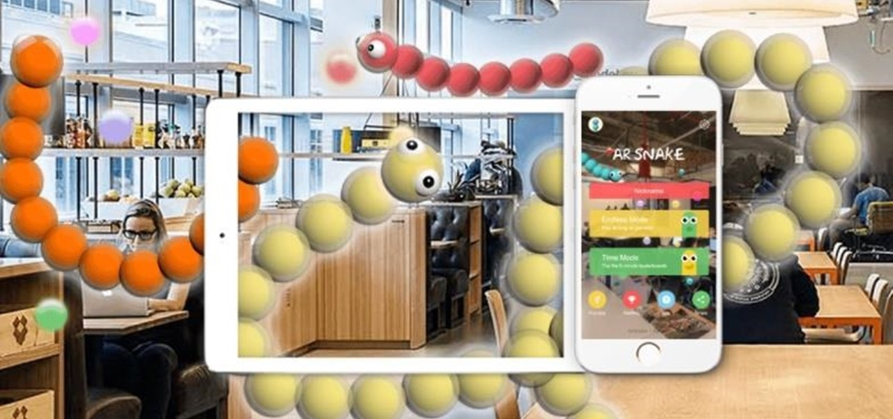 Old Meets New as Mobile Classic Snake Slithers into AR
