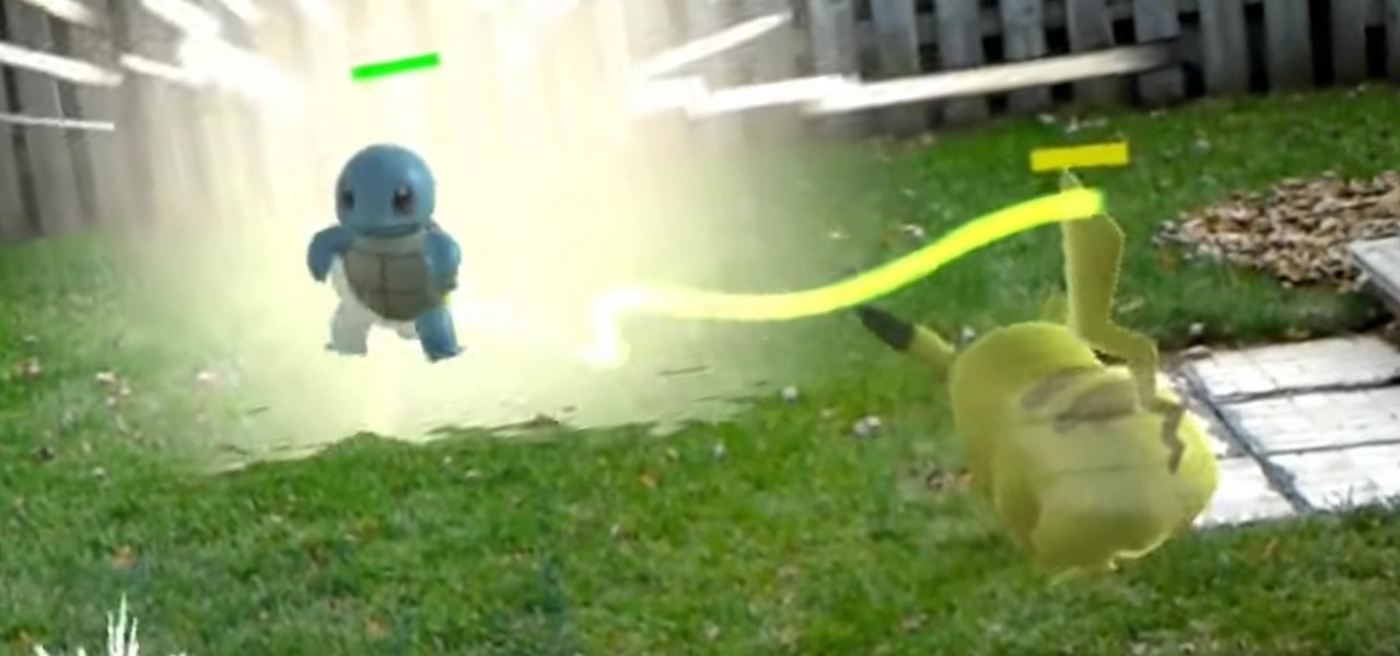 Concept Video Shows Just How Impressive Pokémon Battles Can Be on the HoloLens