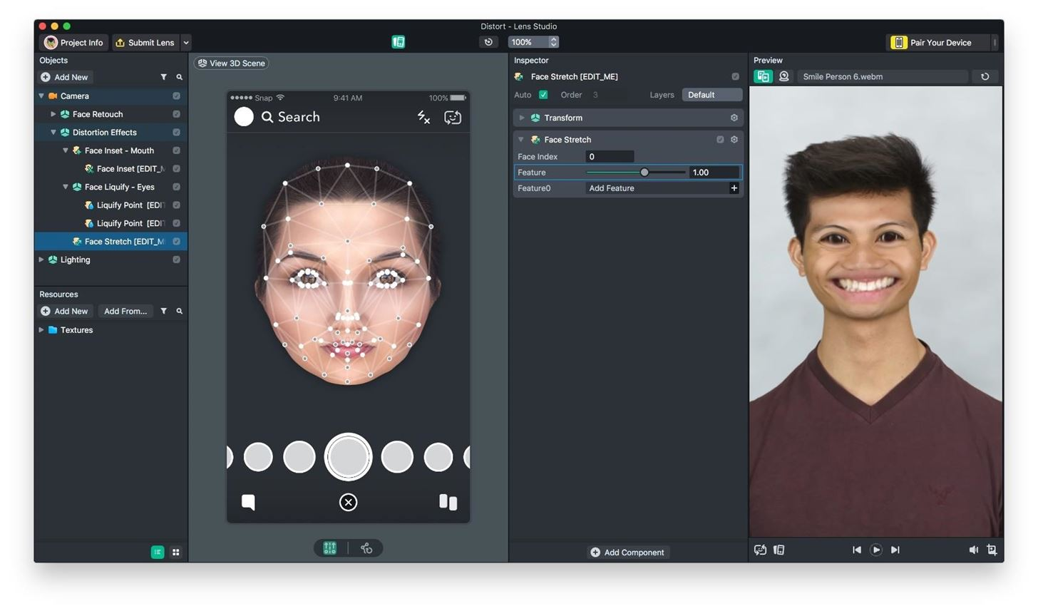 Snapchat Bulks Up Lens Studio with Face Templates, Giphy Integration & More
