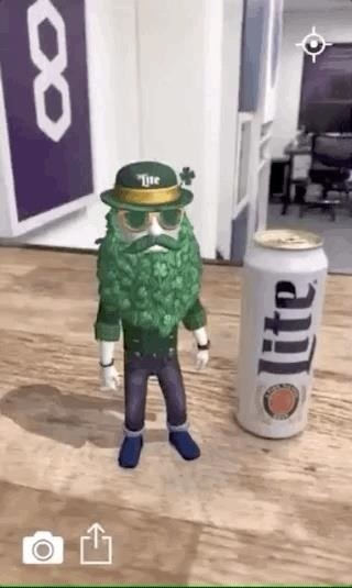 Miller Lite & Trigger Global Turn St. Patrick's Day into an Augmented Reality Celebration