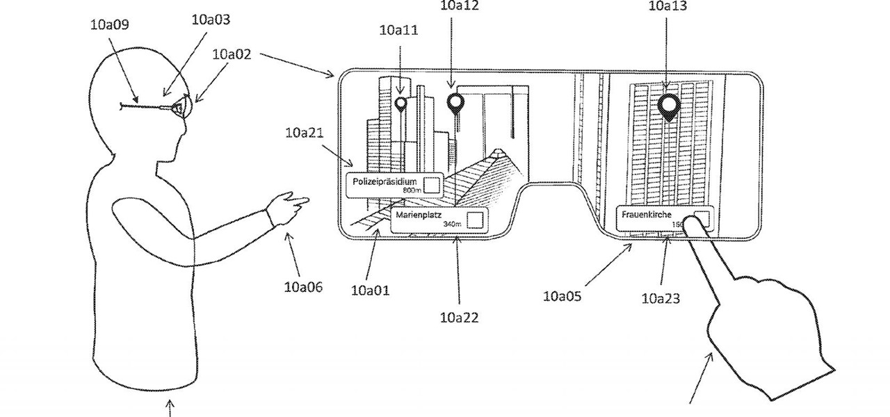 New Patent Application Adds Fuel to Rumors About Augmented Reality Glasses for Apple