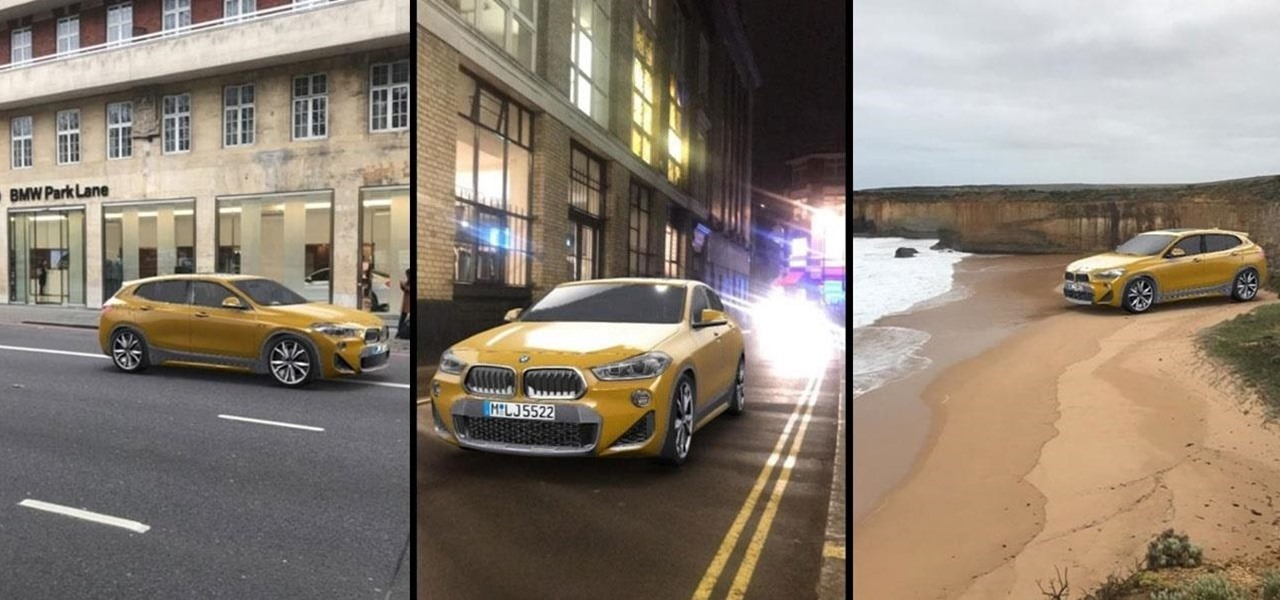 Bmw Invites You To Test Drive The X2 With Snapchat Lens Mobile Ar News Next Reality