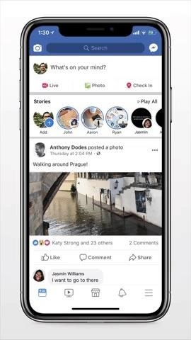 Facebook Camera Can Now Change Your World into an AR Paint Canvas