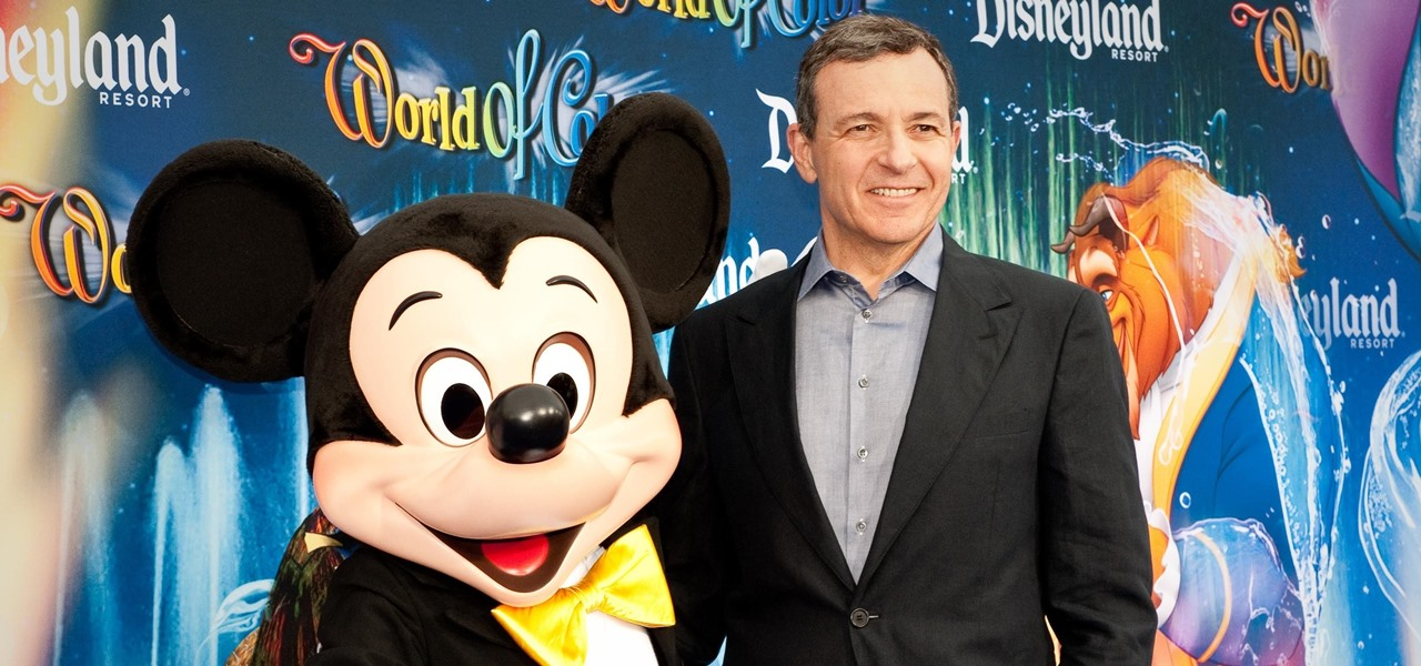 Bob Iger Says AR, Not VR, Is the Way of the Future for Disney Parks