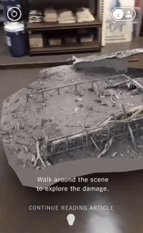 New York Times Delivers Augmented Reality Content to Magic Leap One Starting with Guatemala Volcano Feature