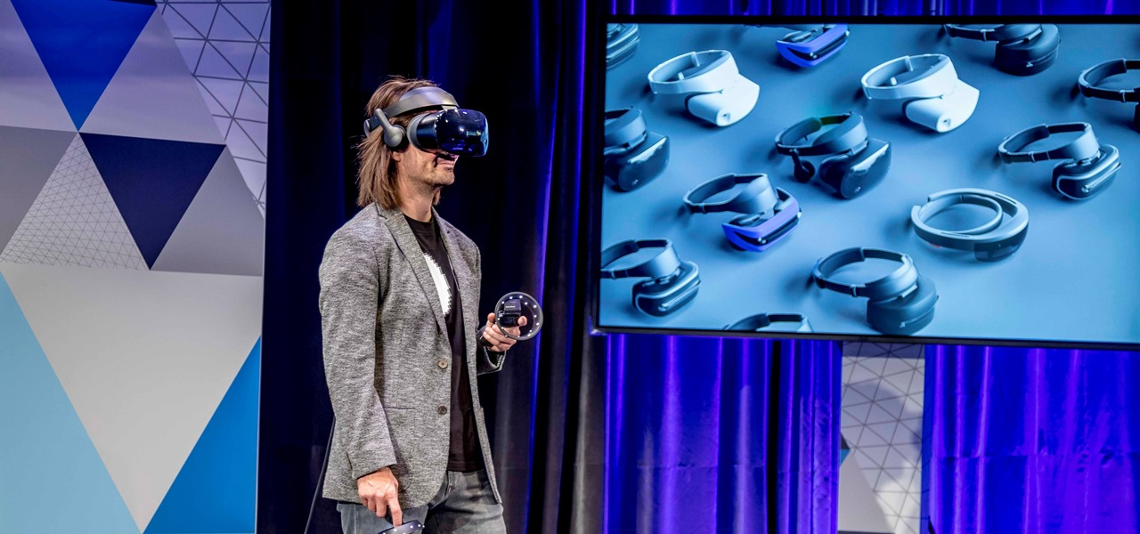 Windows Mixed Reality Headsets Now Available for Pre-Order