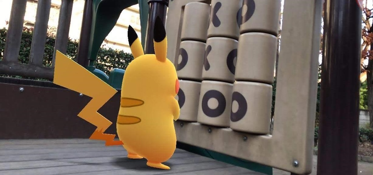 New Pokémon GO Augmented Reality Photo Feature Lets You Strike a Pose with Pikachu