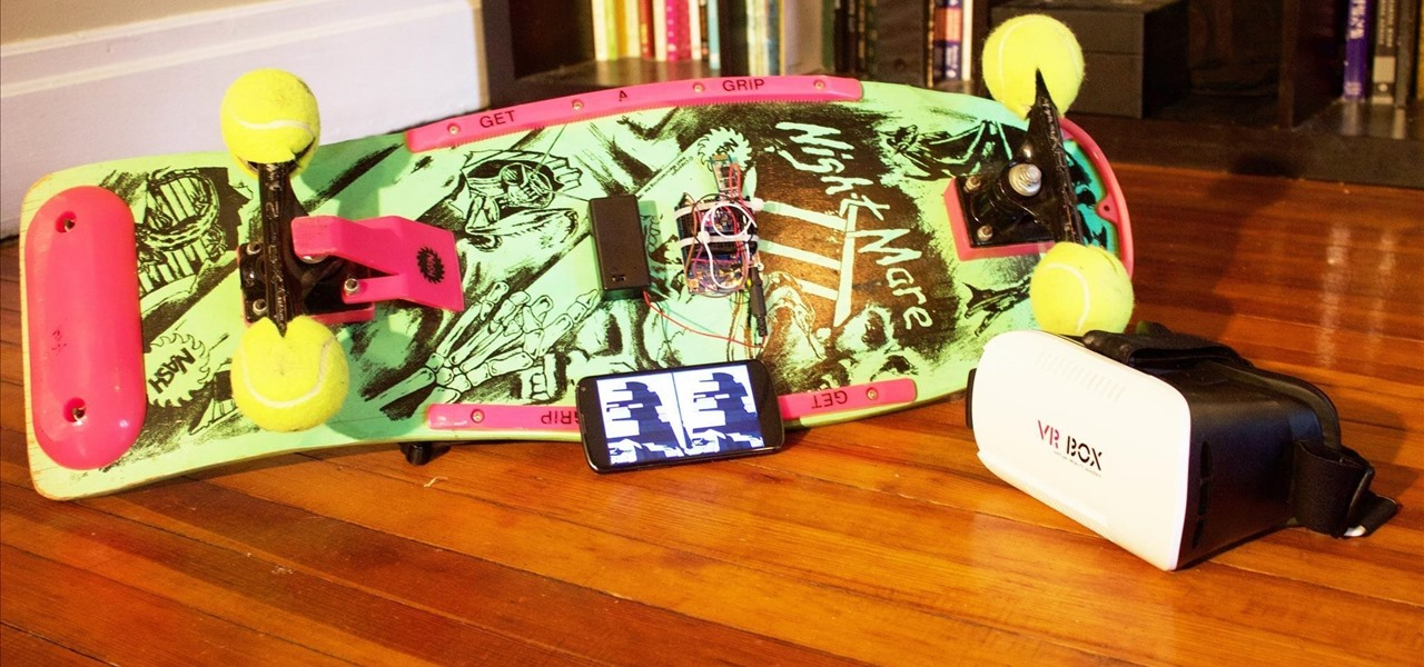 Hack Skateboard for Virtual Reality