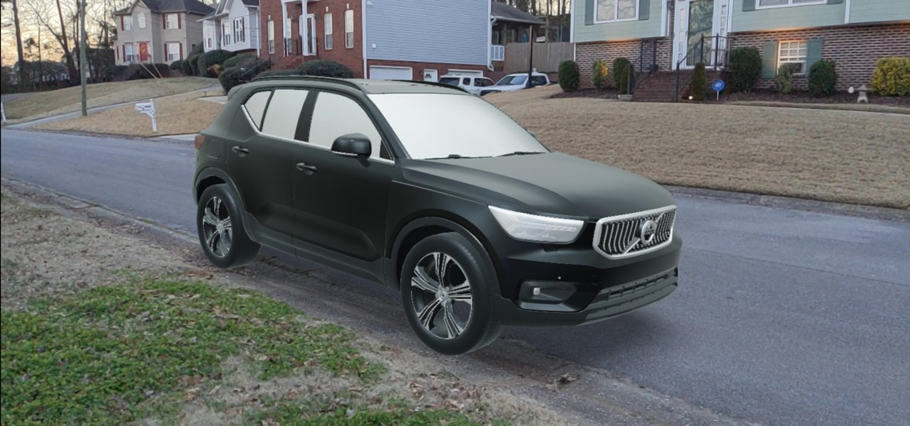 Volvo Teams with Unity to Let You Test Out the XC40 SUV in AR, Launches Developer Innovation Portal