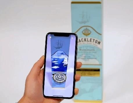 Shazam Pours a Tall Glass of Augmented Reality Marketing for Shackleton Whisky