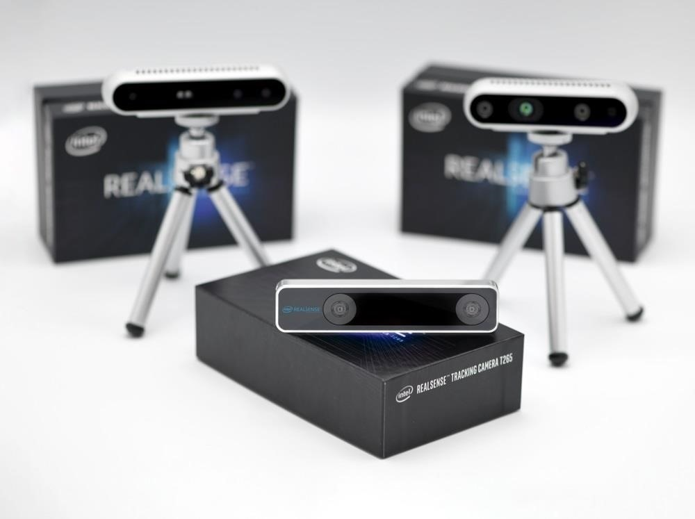 New Intel RealSense Camera Adds Inside-Out Tracking to AR/VR Headsets, Robots, & Drones