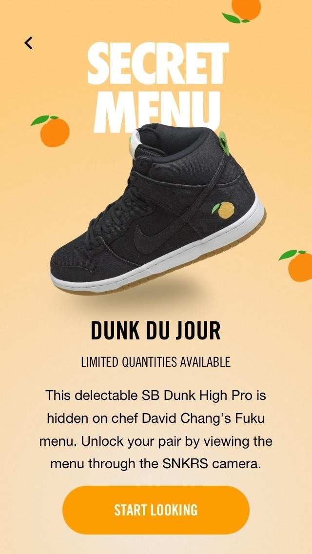 Nike's Newest App Uses AR to Sell Momofuku Sneakers