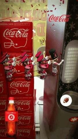 Coca-Cola opens a can of augmented reality to bring consumers into the spirit of Christmas.