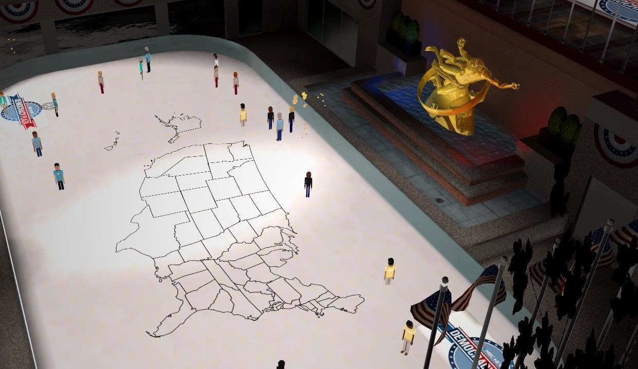 AltspaceVR's Democracy Plaza Puts You in the Middle of the 2016 Election