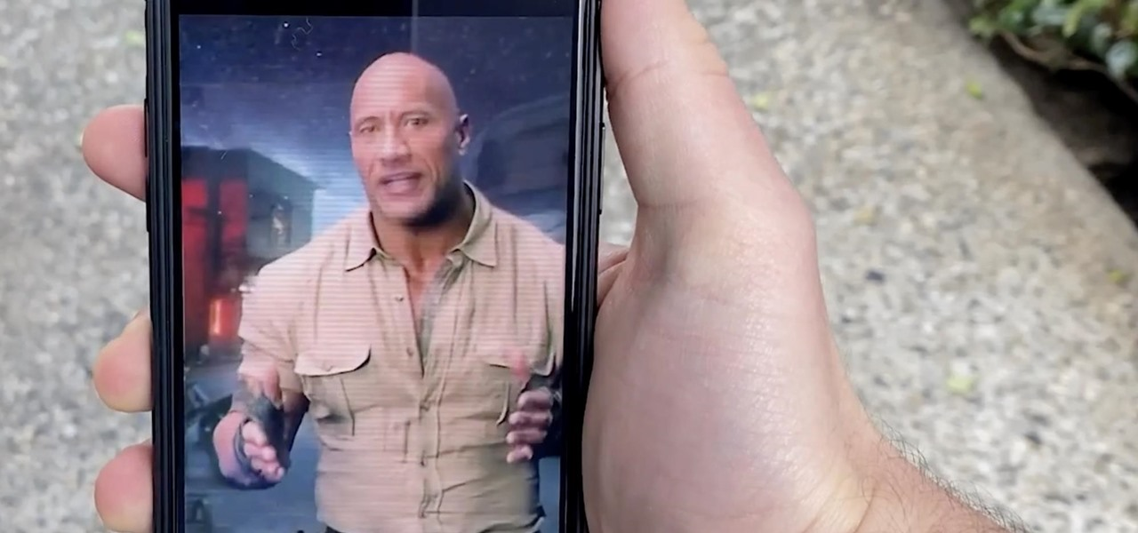8th Wall, Amazon Sumerian & Trigger Team Up to Deliver Web AR Promotion for 'Jumanji' Movie Sequel