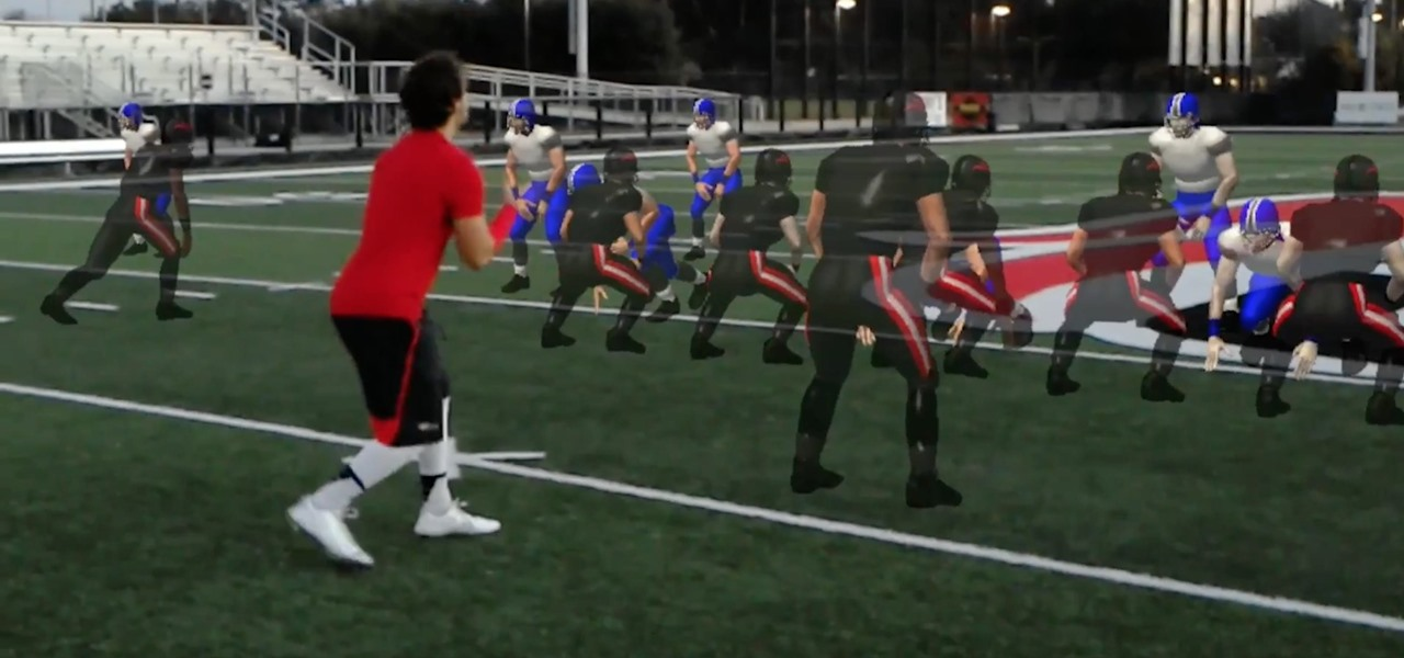 VAR Football Gives Coaches Another Tool to Train Sports Teams With—The HoloLens