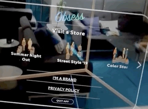 Hands-On: Magic Leap App Obsess Lets You Create a Fashion Store Pop-Up Nearly Anywhere