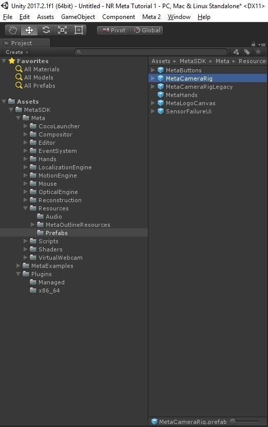 Meta 2 Dev 101: How to Get Started Developing for the Meta 2 in Unity