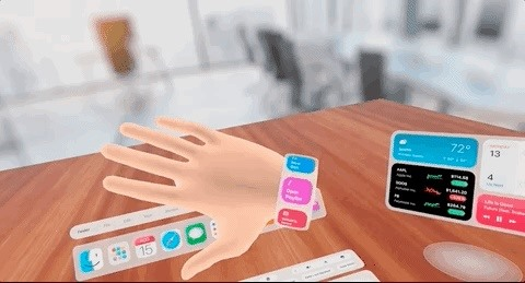 Apple AR Smartglasses Concept Shows the Virtual Desktop of the Future