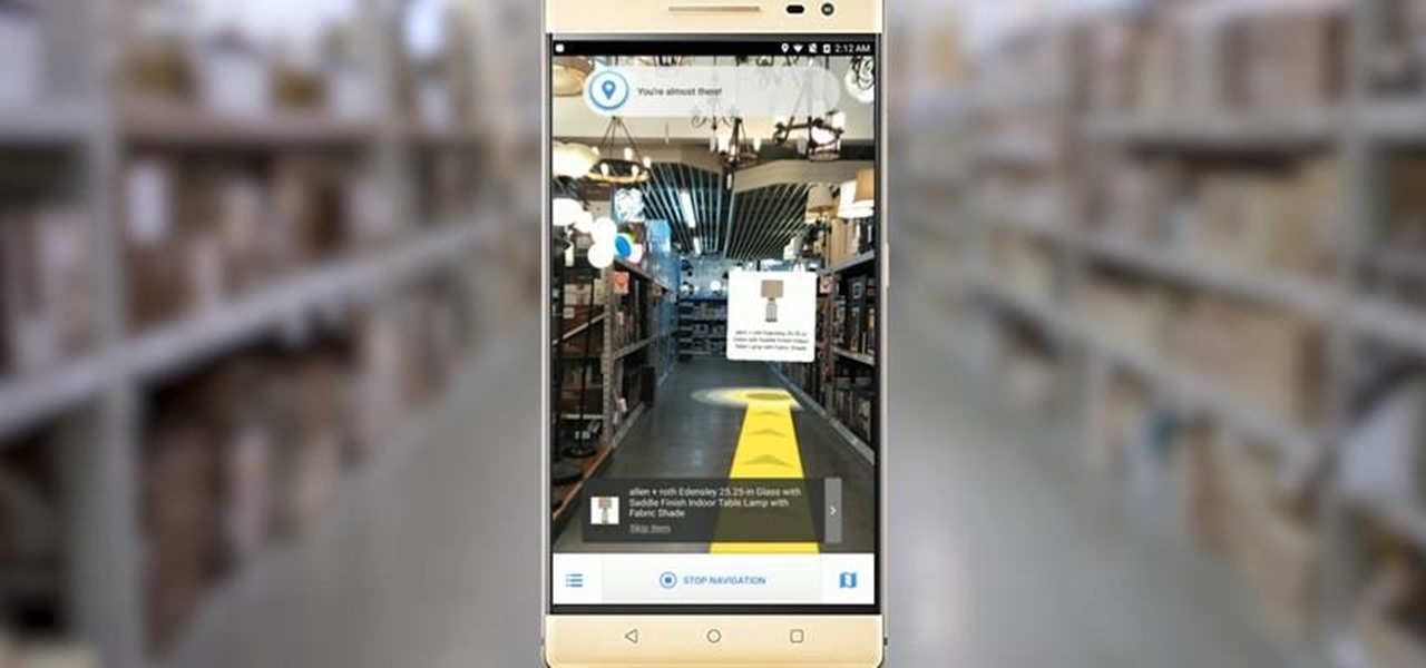 Lowe's New Tango-Based App Helps Shoppers Find Products They Need