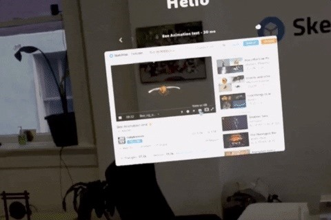 Magic Leap Adds Sketchfab Support to Its Native Helio Web Browser