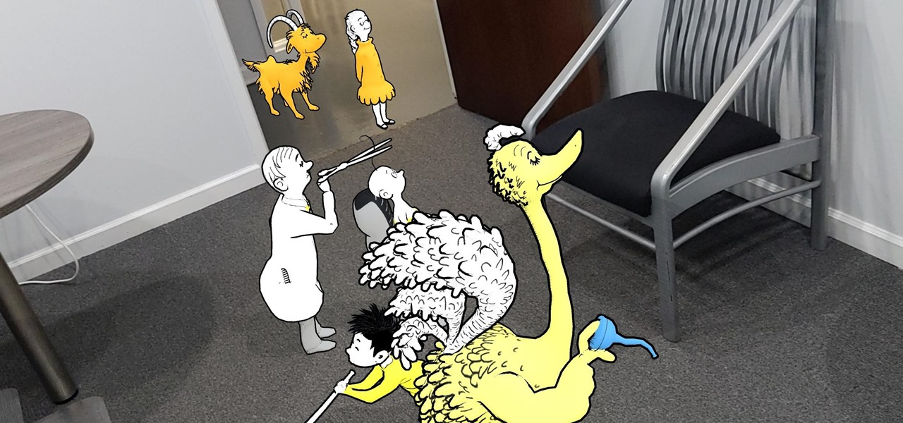 Young Readers Can Now Enter the World of Dr. Seuss via New AR App Created with Unity's Project MARS