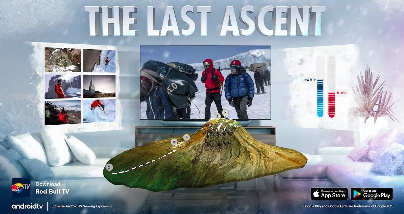 Google and Red Bull TV Premier 'The Last Ascent' with synchronized AR experience that brings nature into your home