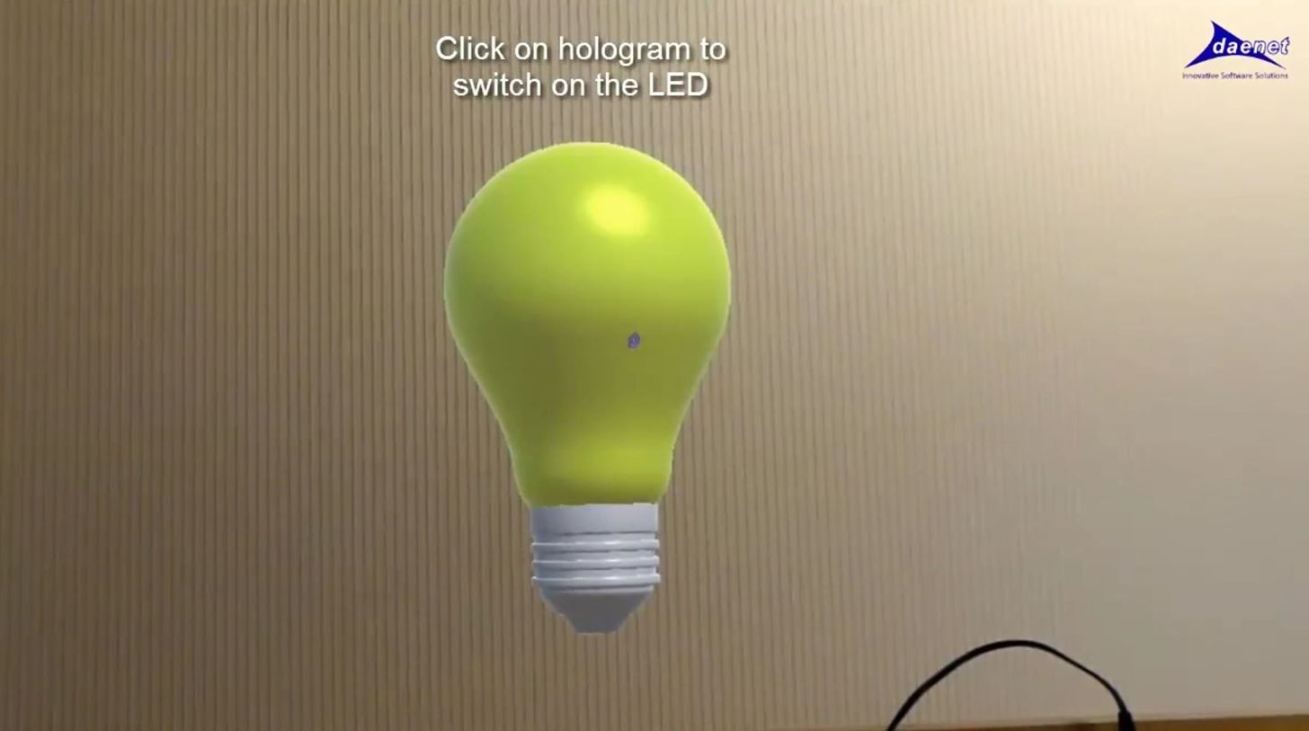 Concept App HoloTwin Uses Holograms to Control Real World Objects