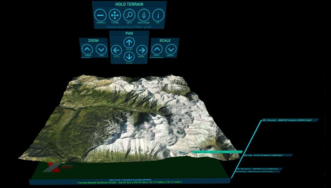 Have You Seen This?: HoloTerrain Lets HoloLens Users Explore the Earth in 3D